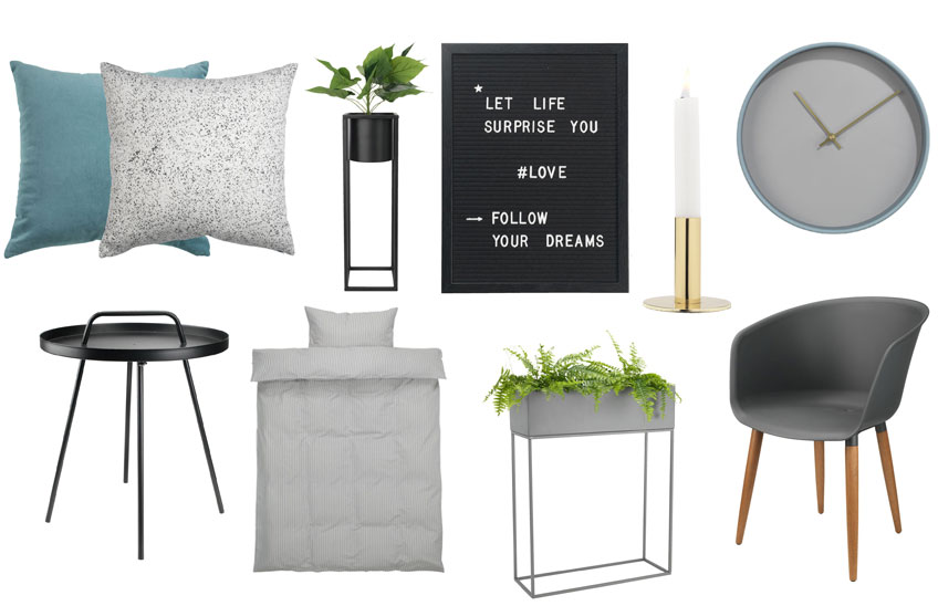 Examples of items reflecting the Simplified Luxury trend